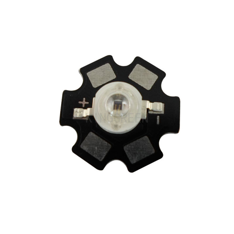 100X High quality 1W/3W/5W high power 850nm IR LED chip with 20mm aluminum PCB free shipping