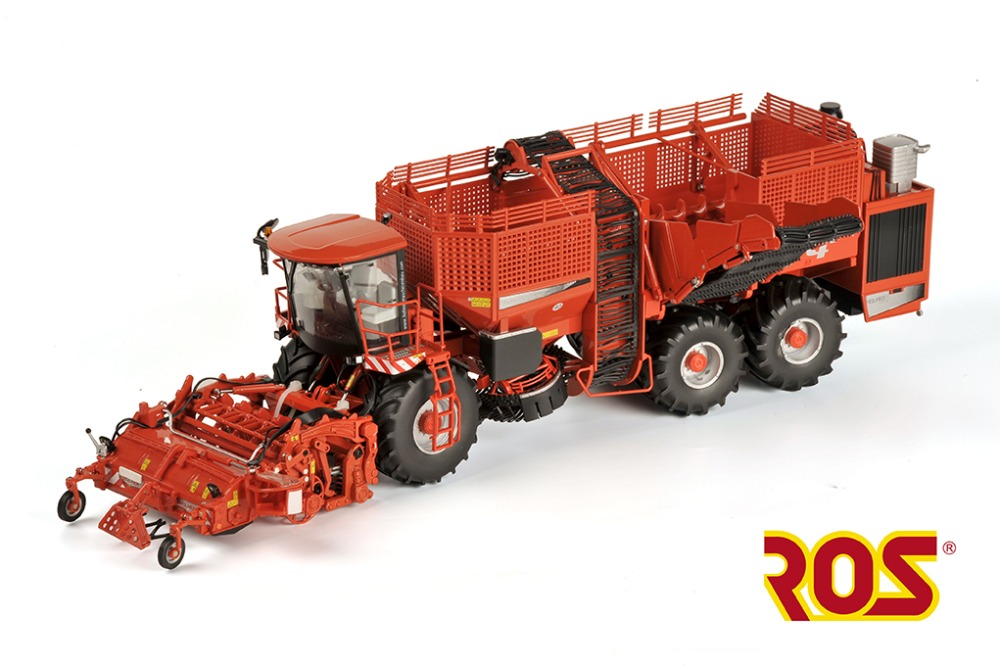 ROS 1:32 HOLMER TERRA DOS T440 ART Harvester Farm Machinery Agricultural Vehicles DieCast Toy Model For Collection Decoration