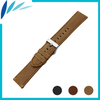Genuine Leather Watch Band For Seiko Watchband 22mm Men Women Quick Release Strap Wrist Loop Belt