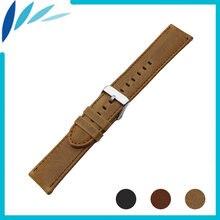 Ремешок из натуральной кожи для мужских и женских часов seiko