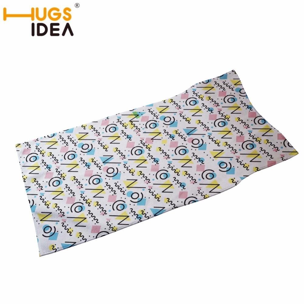 HUGSIDEA 35*75cm 2018 High Quality Hand Towel Cotton Crown 3D Printing Face Towel Plain Soft Baby Towel Wipes Hair Gym Towel