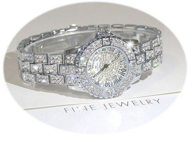 New Women Rhinestone Watch relogio feminino Female Dress watch Diamond Luxury br