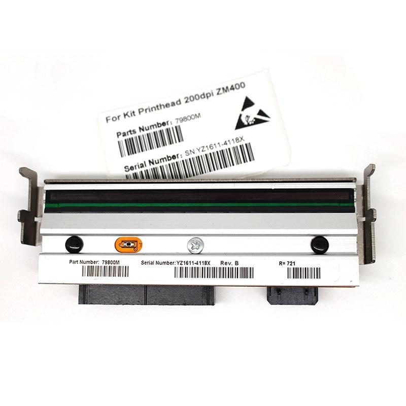 US $555 82 6% OFF|4pcs/1lot New ZM400 Printhead For Zebra ZM400 Thermal  Label Printer print head 203dpi 79800M (90 days warranty guarantee)-in  Printer