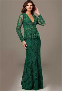 2015-Shearh-V-neck-Vintage-Lace-Women-Evening-Formal-Dress-Long-Full-Sleeve-Prom-Gown-Sexy