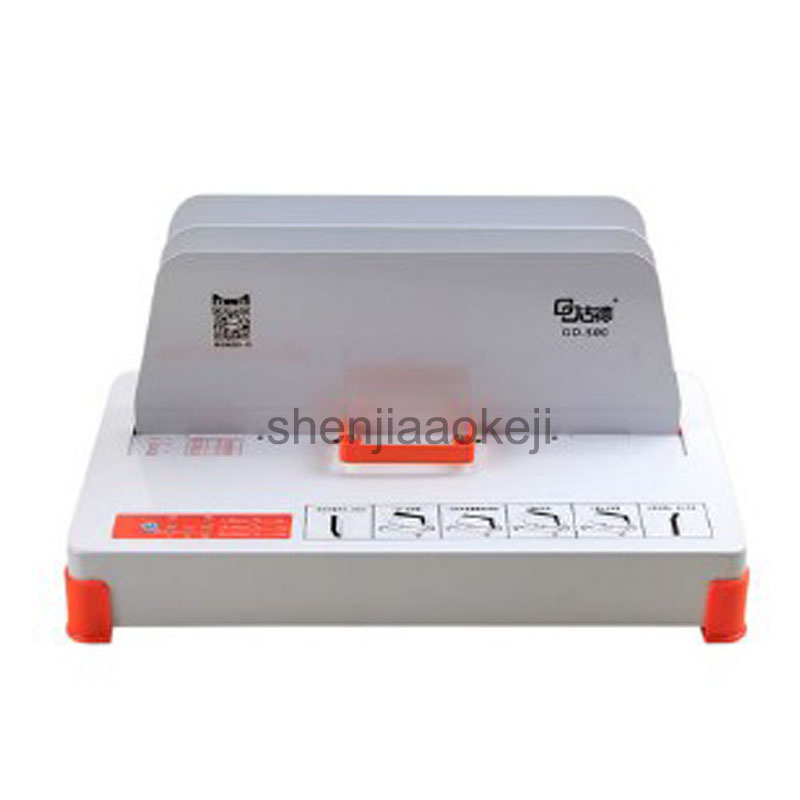 5CM thick binding machine hot melt envelope binding machine financial tender contract automatic small electric binding machine contrast binding tee
