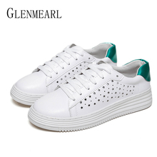 Women Flats White Shoes Platform Casual Shoes  Woman Sneakers Lace Up Round Toe Spring Autumn Female Driving Shoes Plus Size DE pu leather shoes women white sneakers spring autumn women lace up flats shoes casual woman footwear ladies platform shoes