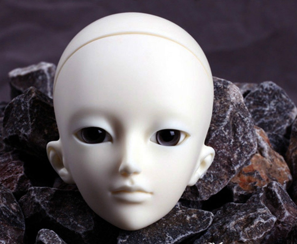 [wamami] AOD 1/4 BJD Dollfie Girl Doll Parts Single Head (Not Include Make-up)~Rao [wamami] aod 1 3 bjd dollfie girl set free face up eyes yuki