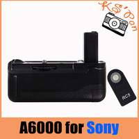 A6000 battery grip wireless remote cotrol Professional Vertical Battery Grip Handle Holder Pack For Sony Alpha A6000 DSLR Camera