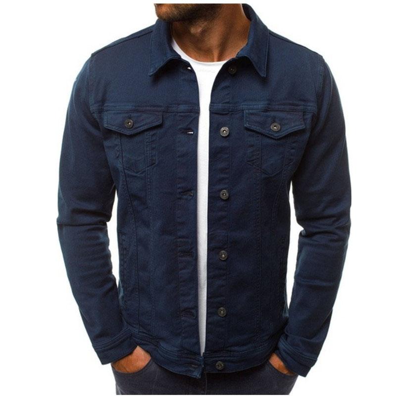 HTB1dzz9LSzqK1RjSZFHq6z3CpXaX 2019 men's Jacket casual overalls jacket jacket Coats Man Buttons