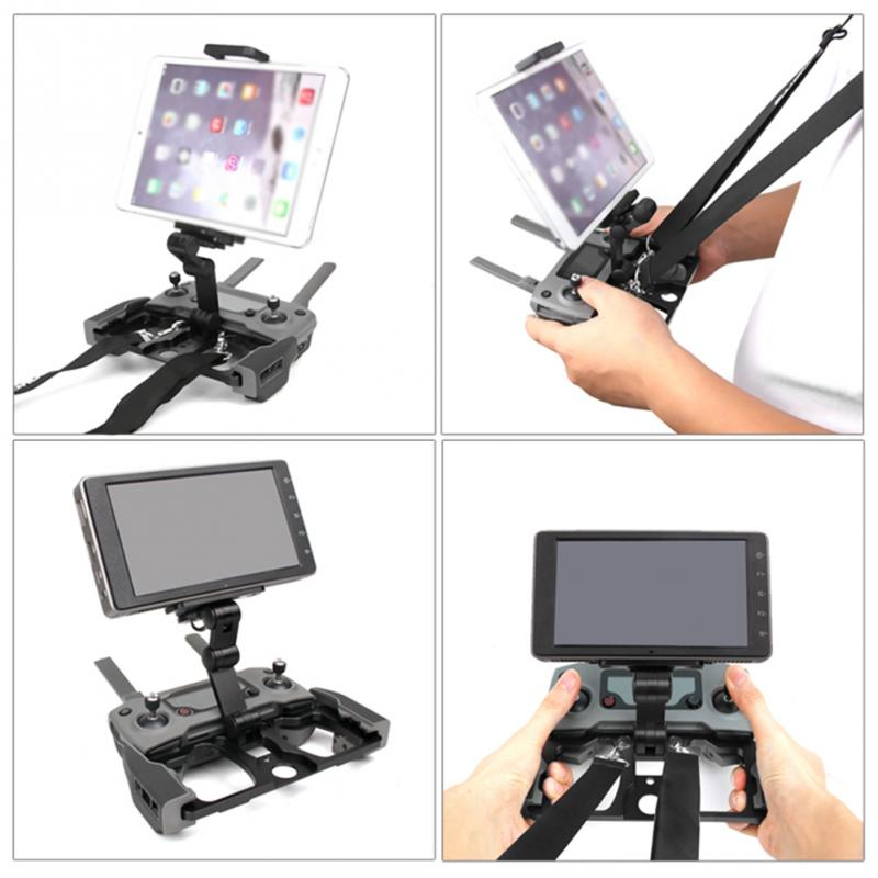 Aerial Aircraft Controller Accessory Durable Holder For DJI MAVIC AIR Black Bracket For Phone Tablet Useful Stand #0929