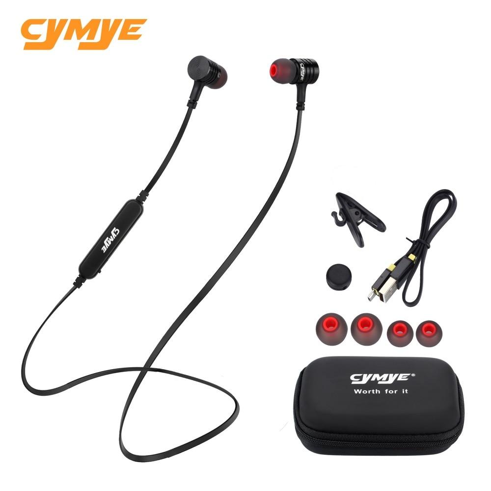 Cymye Wireless Headphone Bluetooth Earphone For Phone Neckband sport earphone Auricular Bluetooth цена