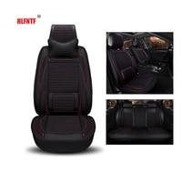 Special leather plus flax car seat cover For dodge all model 2000GTX atos avenger attitude B250 W150 350 durango seat cushion