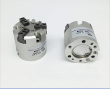 Диаметр 50 мм тип SMC MHS3 серии двойного действия Три пальца пневматический цилиндр воздуха захват