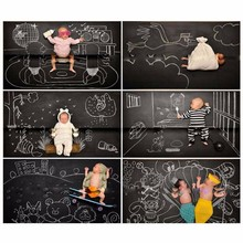 Wall Stickers Wallpaper Chalkboard Kids Room Decoration Decorative Blackboard Sticking Black Wall Kids Paint Slate 15%