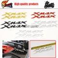 1 par Envío Libre de La Motocicleta 3D pegatinas calcomanías Tanque apliques emblema Encaja Para XMAX X-MAX 125 250 400