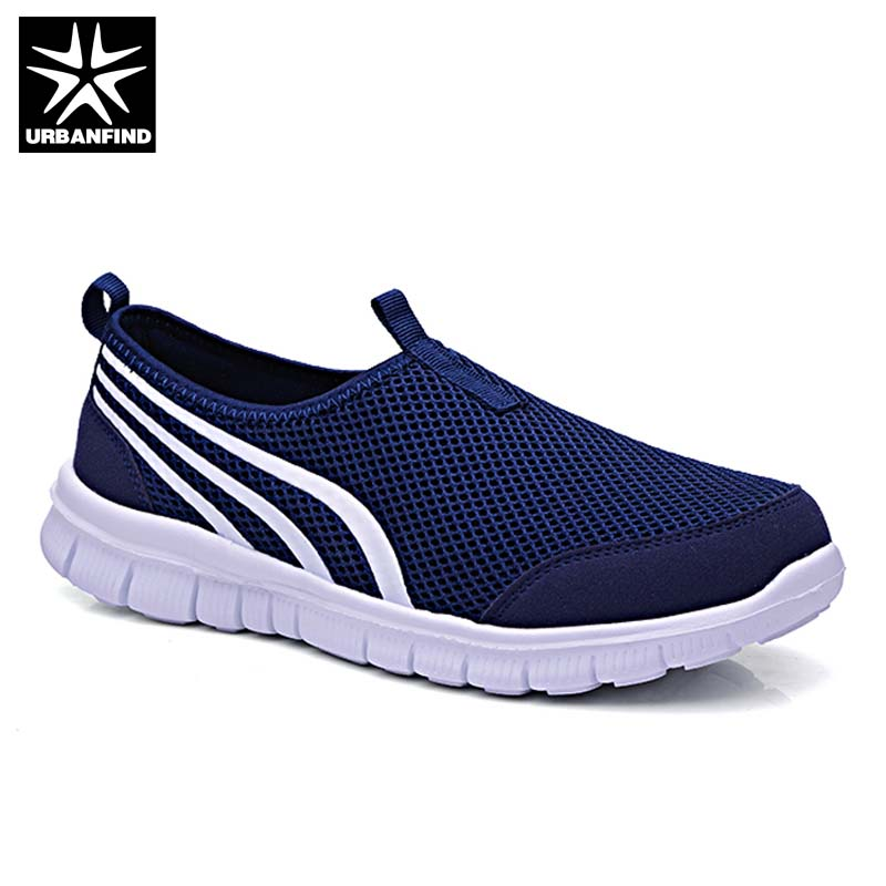 Large Size 35-48 Unisex Fashion Sneakers Breathable Mesh Casual Shoes New Arrival Male Female Summer Slip-on Walking Shoes