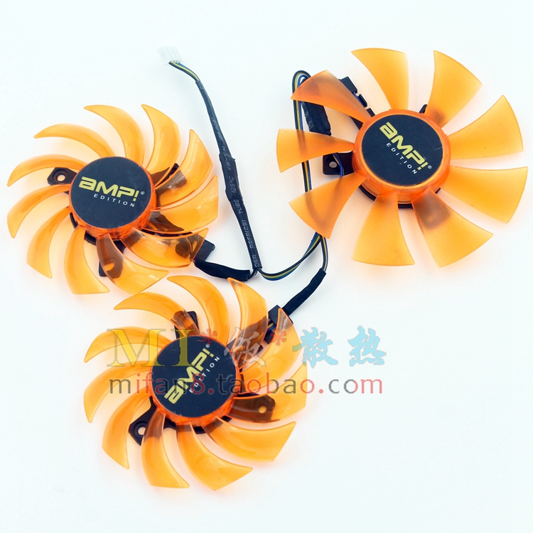 Free shiiping 3pcs/lot APISTEK for Zotac GTX770 amp GTX780 amp GA81S2U GA91S2H graphics card fan 2pcs lot ga81s2u 12v 0 38a 75mm 4pin apistek cooler fan for zotac gtx960 4g pci edc graphics card fan