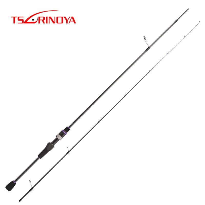 TSURINOYA nouvelle canne à pêche AJING ELF 1.83 m UL F 2 Section tige sébaste FUJI Guide anneaux accessoires poids 70g leurre poids 1-7g