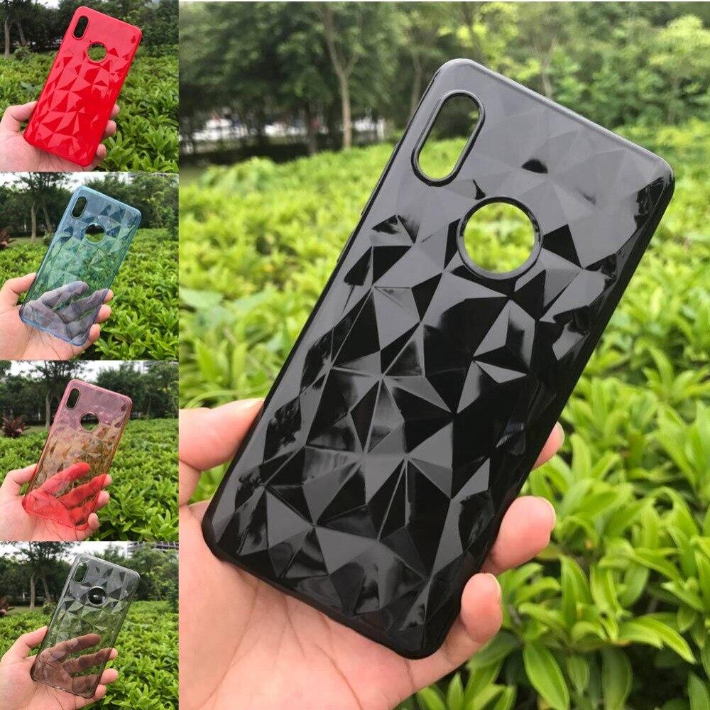3D Diamond Texture Case For Xiaomi Redmi Note 5 Pro Cover Soft Phone Cover Redmi 5A 6A 6 PRO S2 Cover Xiaomi POCOPHONE F1 Case