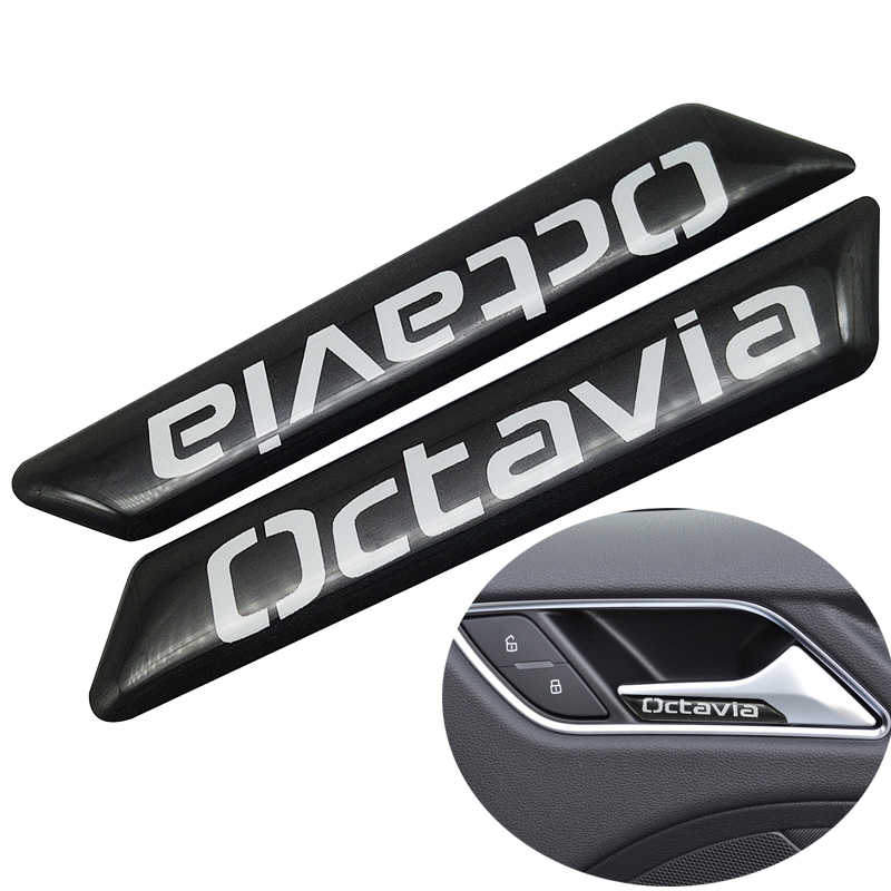 2pcs/set New style Car Styling fit for skoda VRS octavia Seat Lift Wrench Seat Insert Trim car sticker Auto Car Accessories