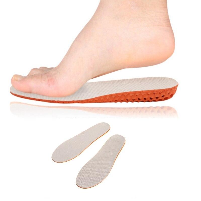 EYKOSI Soft Silica Gel Shock Absorption Deodorant Sports Athletic Insole Foot Pad damask silica gel mold