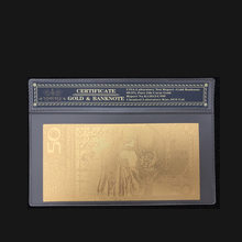 50 ZLOTY POLAND GOLD BANKNOTE POPE JOHN PAUL II For collection 999 Gold. POLYMER Free Plastic Sleeve
