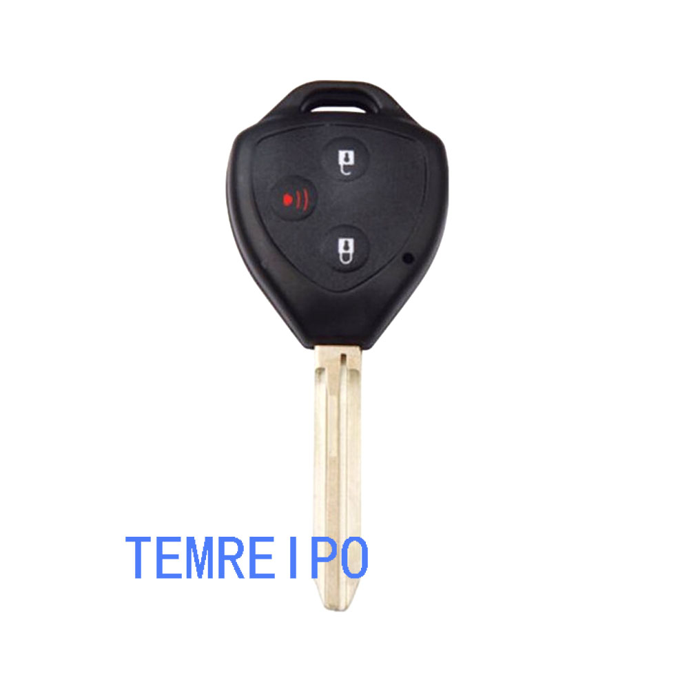 20pcs/lot 2+1 buttons remote key shell for toyota
