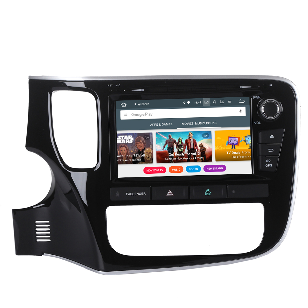 Perfect Android 9 Car GPS navigation Car DVD player For Mitsubishi OUTLANDER 2014 2015 2016 2017 multimedia radio tape recorder headunit 1