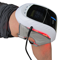 650nm Low Level Laser Knee Care apparatus Electric Therapy For Accelerate Circulation To Healing and Massager free shipping