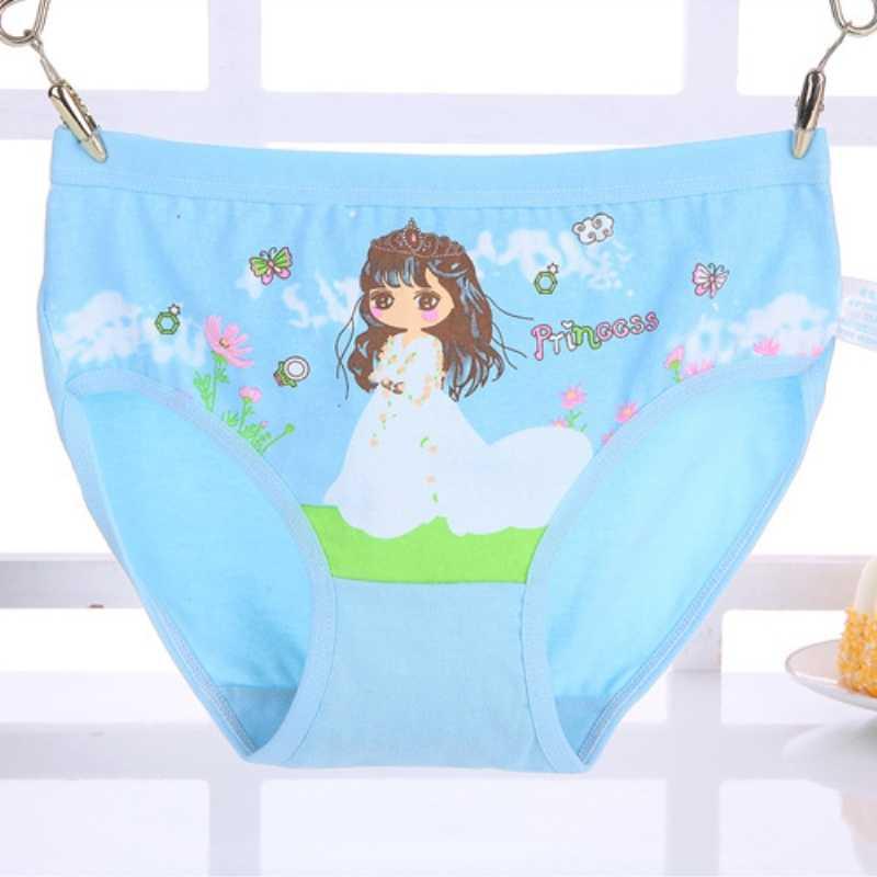 جديد القطن أزياء الاطفال الفتيات ملخصات طفلة الملابس الداخلية الكرتون الأطفال سراويل جميل السروال للفتيات 1 pcs