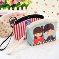 Alta Calidad Portable Cosmético Del Bolso/Bolsa de Almacenamiento con Impermeable Plegable bolsa de cosméticos pequeño