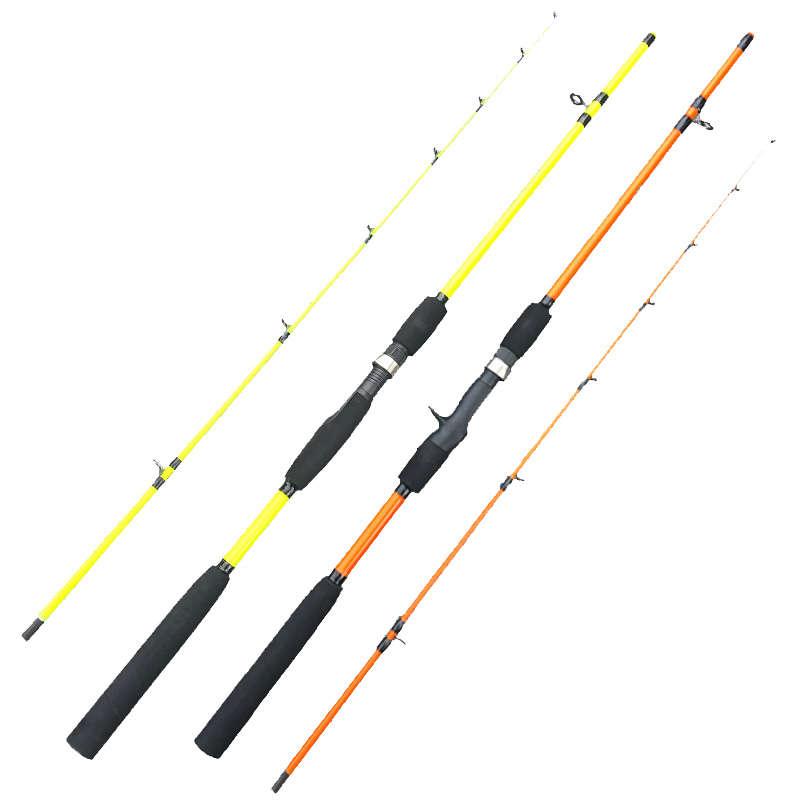 ice stream ultralight spinning telescopic fishing rod portable 2segments bait casting rod travel rod 1.6m bass squid rods-in Fishing Rods from Sports & Entertainment