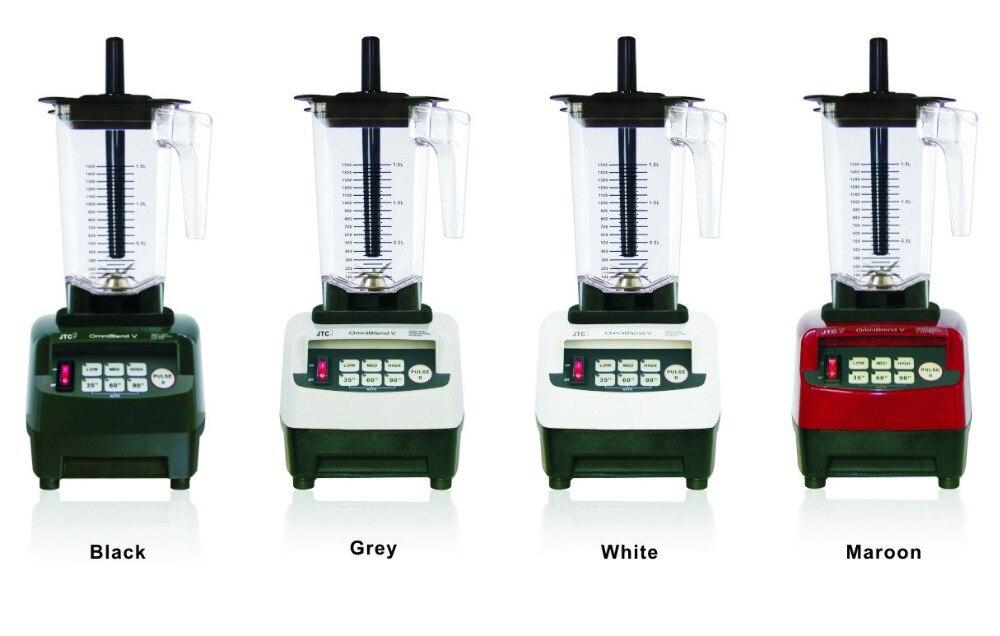 JTC Frullatore Commerciale con PC jar Cucina helper, modello: TM-800A, nero, garantito al 100%, NO. 1 qualità in tutto il mondo