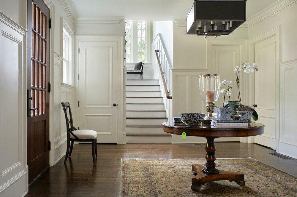 2016 Hot Sale Top Quality Entry Solid Wood Door Interior Wooden Door Hotel Security Doors Antique Villas Door ID1606001