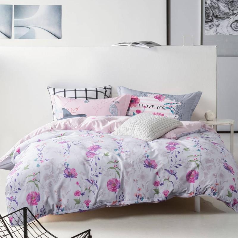 Exelent white comforter with purple flowers crest best evening white comforter with purple flowers choice image flower decoration mightylinksfo
