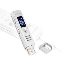 High Quality Voice Recorder Pen Hidden Spy Mini Usb Digital Clean Sound Micro Audio Recorders 8GB Portable Mp3 Player