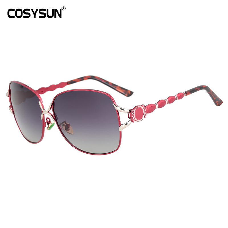 2019 COSYSUN Brand Polarized Sunglasses Women Driving Sun glasses designer Luxury female