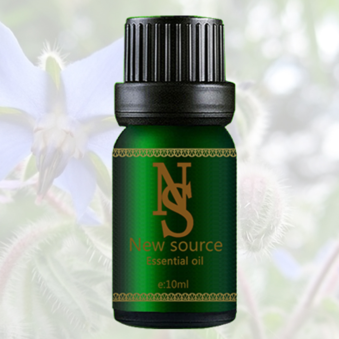 100 pure plant base oil essential oil Borage oil 10ml imports Breast Enhancement Rhytidectomy Anti aging JC7 in Essential Oil from Beauty Health