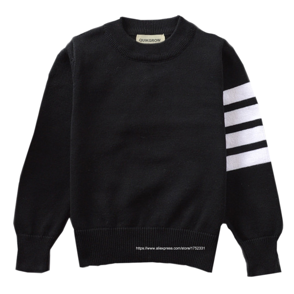 QUIKGROW-Excellent-Cotton-Neutral-Infant-Girl-Sweater-Baby-Boy-Pullover-BlackGreyRed-Long-Sleeve-Knitwear-Tops-YM23MY-2
