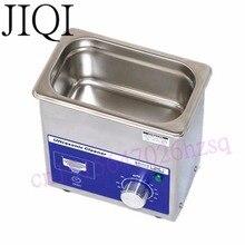 Jiqi 80 Вт небольшой ультразвуковой очистки таймер 0.7L 40 кГц для бытовых очки ювелирных изделий Стоматологическая Смотреть Зубные щётки Товары для уборки инструмент