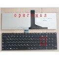 Original nuevo teclado ruso para toshiba satellite c850 c855d c850d c855 c870 c870d c875 c875d l875d ru teclado del ordenador portátil