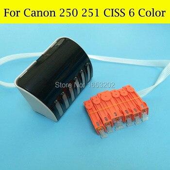 PGI250 XL CLI251GY XL CISS PGI250 CLI251 CISS System For Canon PIXMA MG6320 6230XL