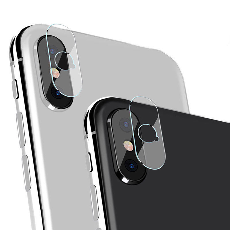 4pcs/2pcs Back Camera Lens Tempered Glass Protector For iPhone X iPhone 8 Plus / 8 / 7/ 6