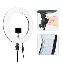 """Meking Caméra Photo Vidéo 18 """"extérieur 55 W LED Light Ring 5500 K Dimmable Photographie Anneau Vidéo Lumière pour Caméra Remplir Lumière"""