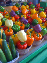 200pcs/bag Organic Rainbow Bell Pepper seeds(chili seeds),mixd colour ,vegetable seeds Non-GMO plant for home garden