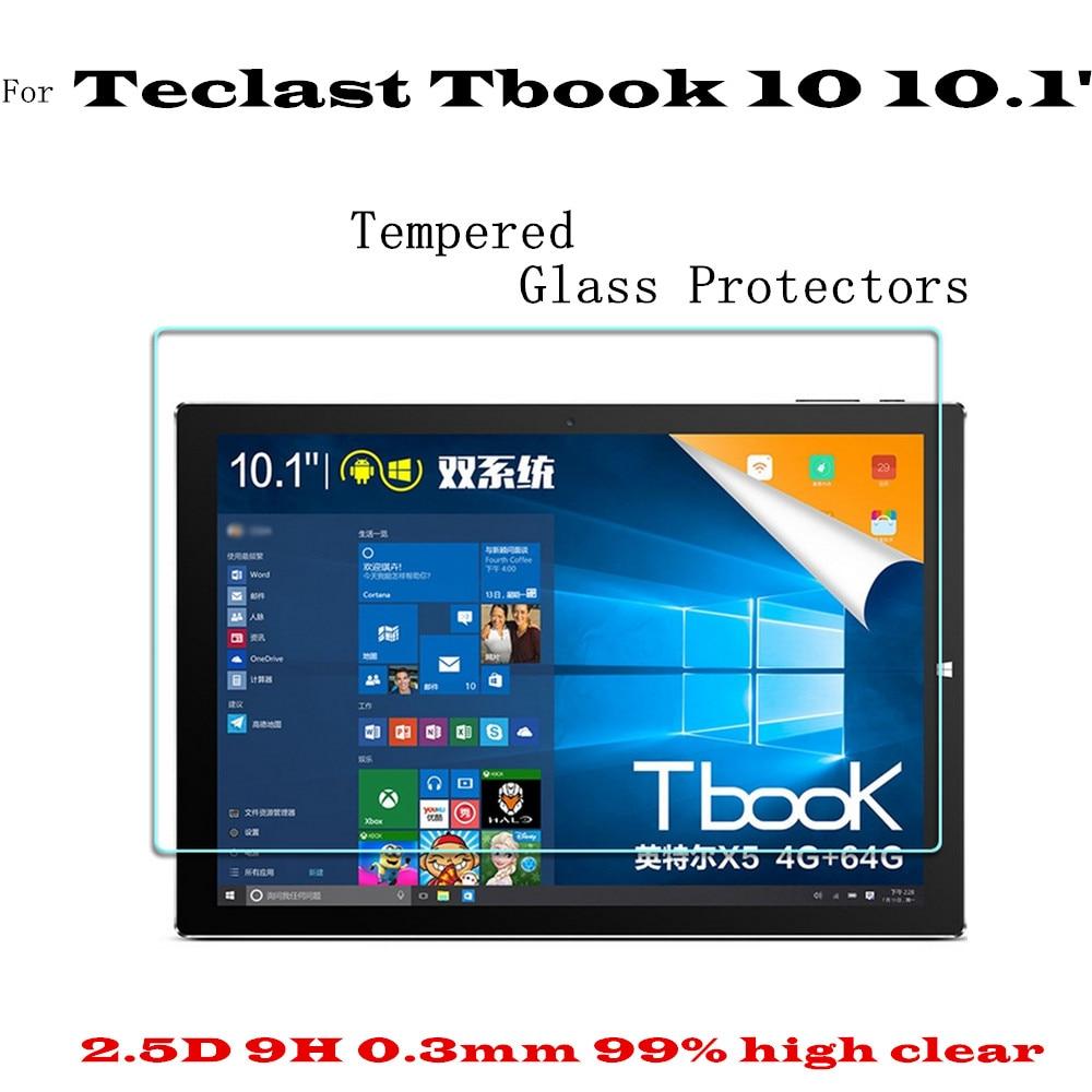 Tbook 10 S Cam Ekran Teclast Tbook Için Filmi Korumak 10 Teclast P10 Için temperli cam ekran Koruyucu ekran guard