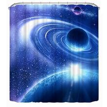 Bule estrella del universo del espacio galaxy 3d cortinas opacas para chicas infantil chicos ropa de cama sala de estar cortinas cortinas para sala