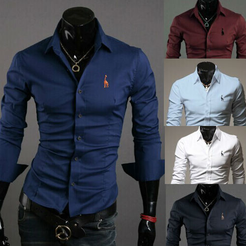 Compare Prices on European Slim Fit Shirts Men- Online Shopping ...