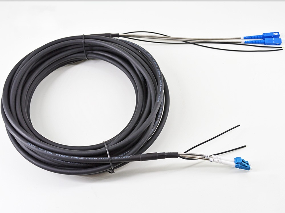 FirstFiber LC UPC TO SC UPC SM CPRI Outdoor 2core Duplex FTTA Patch Cable Patch Cord G652  Base Station LSZH 25m 50m 100m