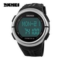 SKMEIแฟชั่นกีฬากลางแจ้งนาฬิกาPedometer H Eart Rate Monitorแคลอรี่เคาน์